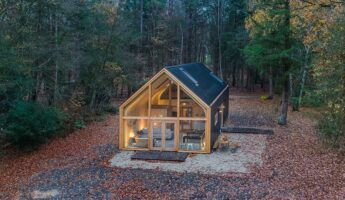 Woon Pioniers - prefab cabin