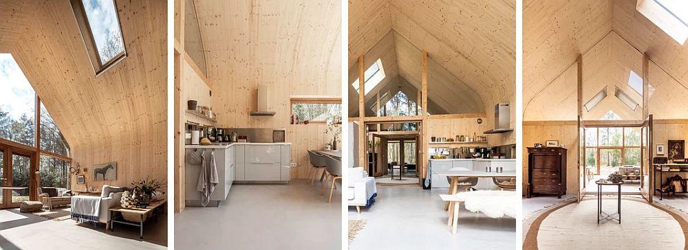 Woon Pioniers – prefab cabin interior