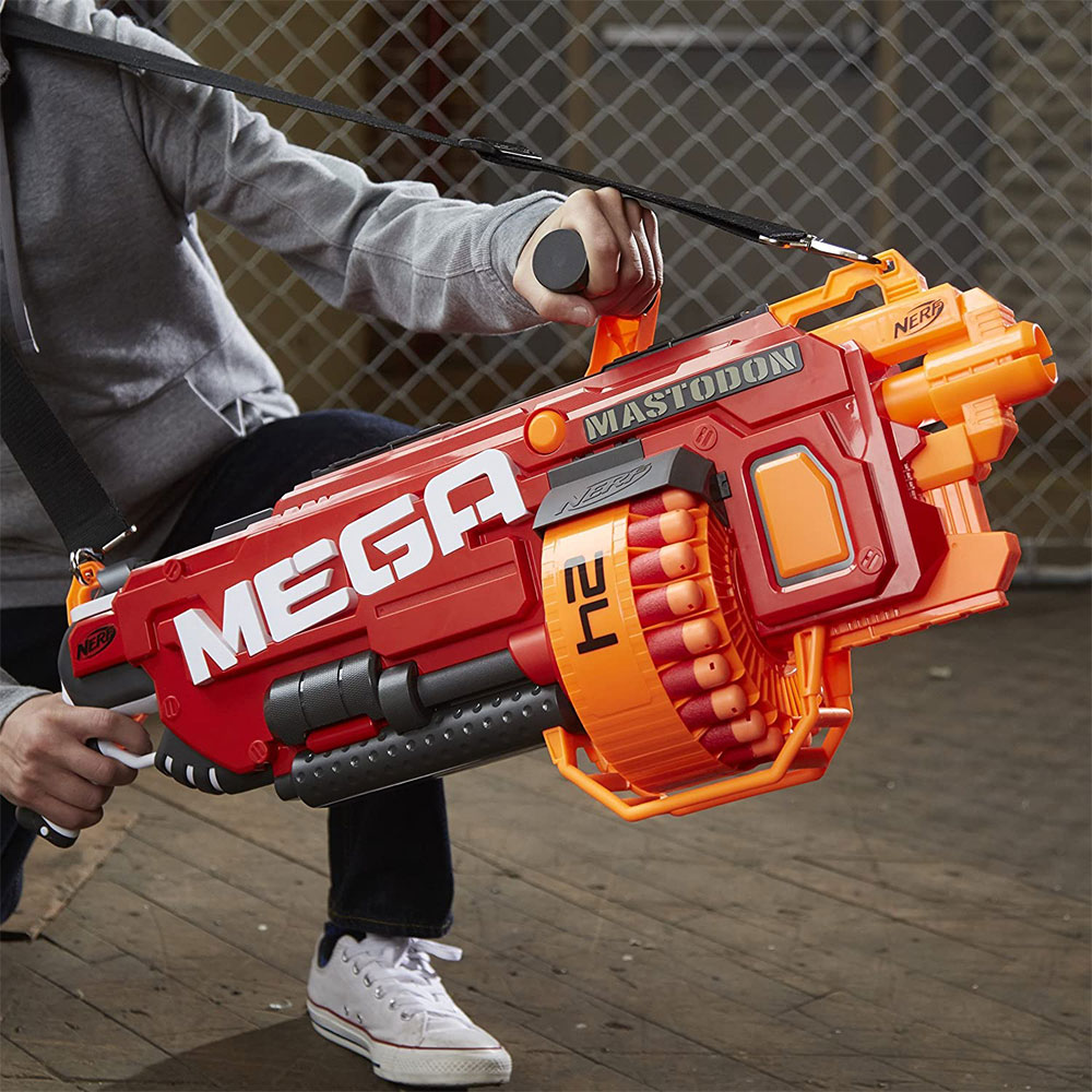 Biggest Nerf Gun | Mega Mastodon Blaster