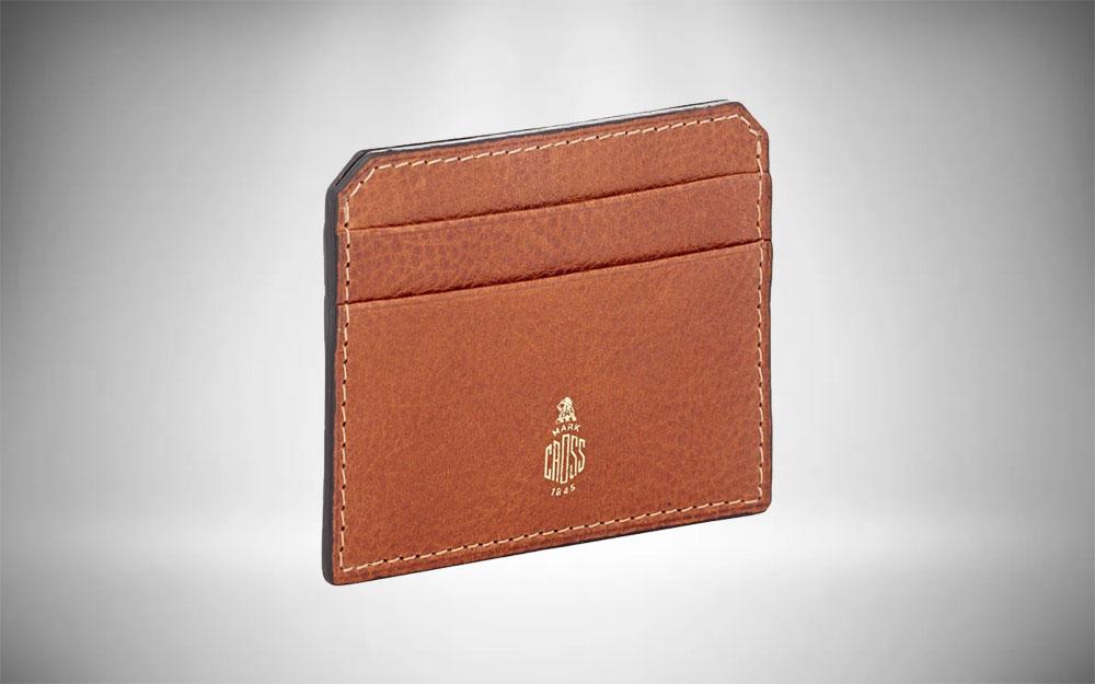 Mark Cross Flat Card Case