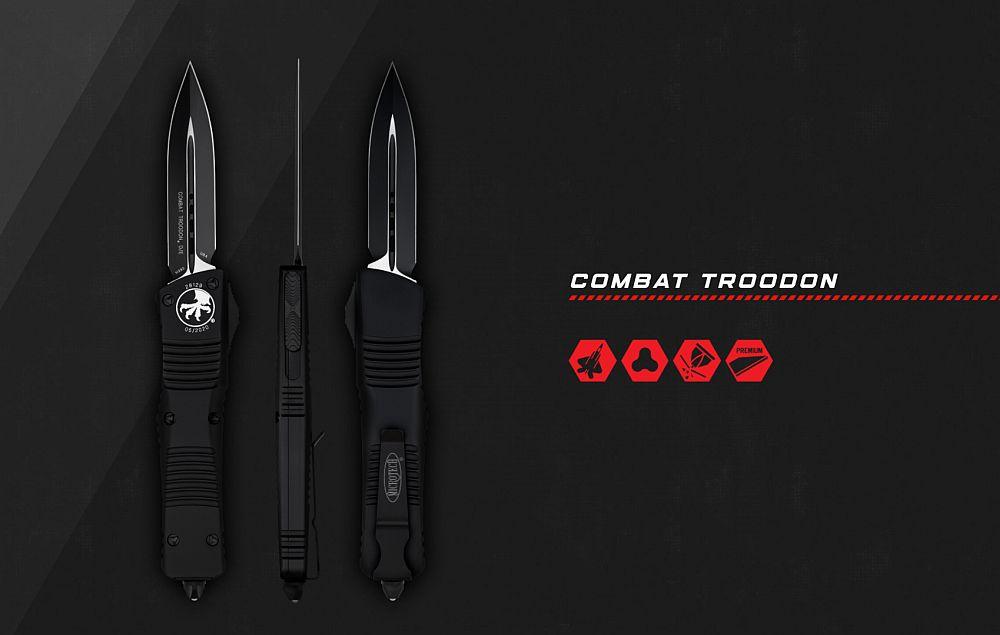 Microtech Combat Troodon OTF Knife