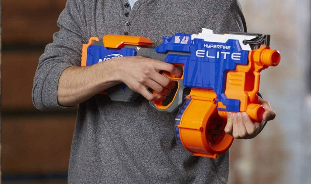 N-Strike Elite Nerf Gun | HyperFire Blaster