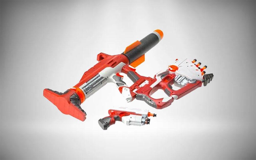 Nerf Blaster + Pistol Combo | N Strike Unity Power System