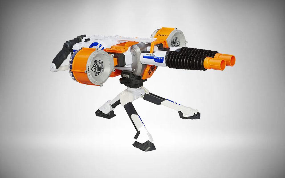 Nerf Gatling Gun | N-Strike Elite Rhino-Fire Blaster