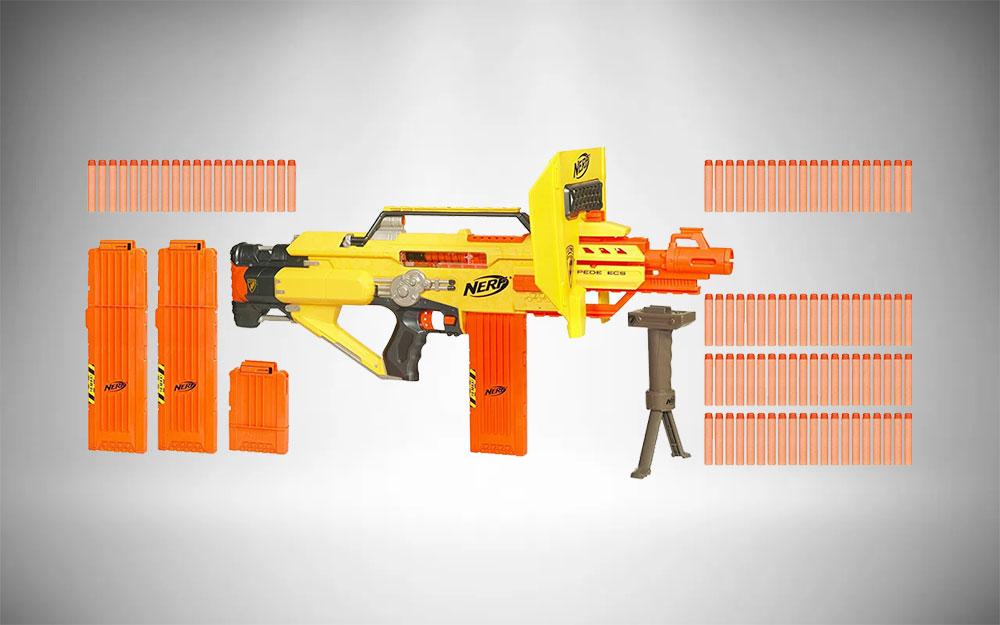 Nerf Machine Gun | Stampede ECS-50