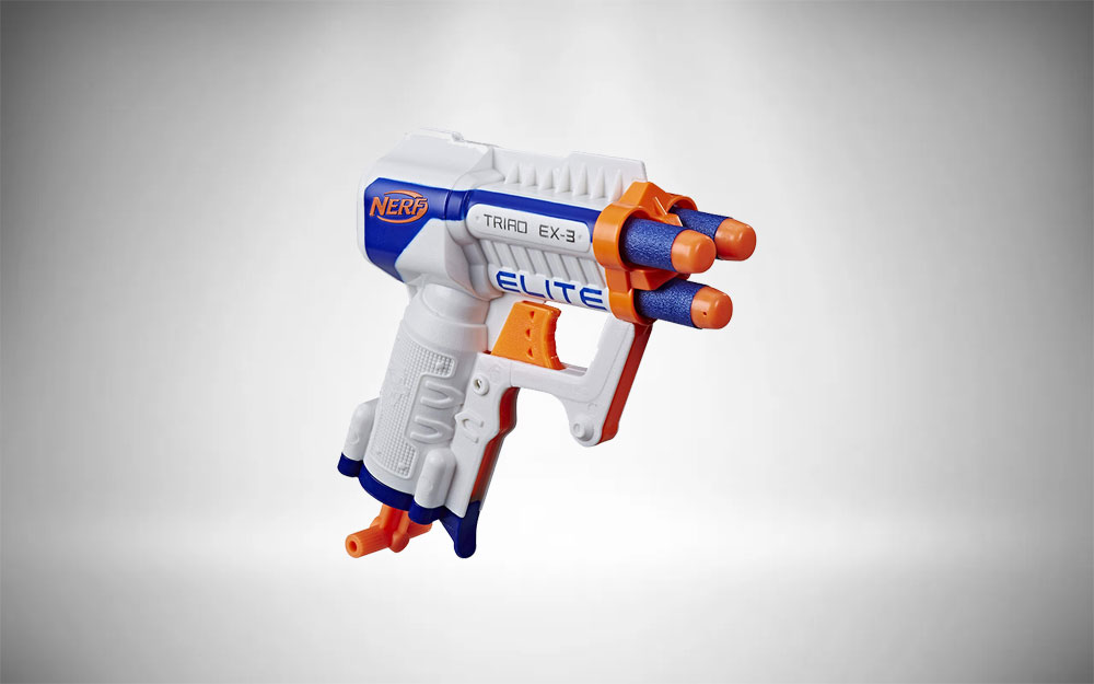 Nerf Pistol | Elite Triad EX-3