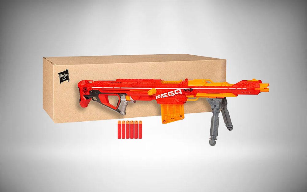 Nerf Rifle A3700 Centurian Mega Blaster