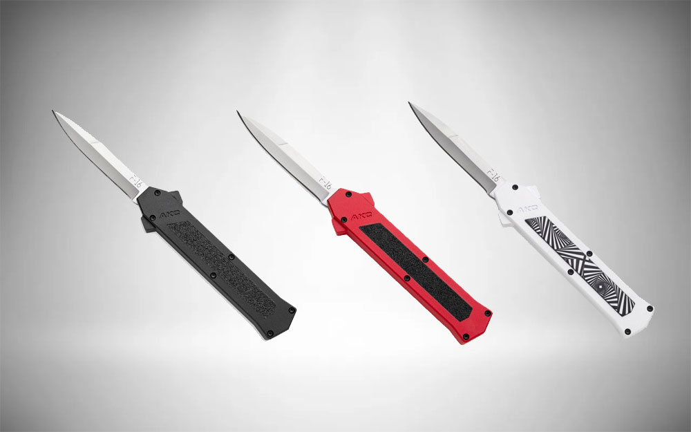 AKC F-16 - Out the Front Knife