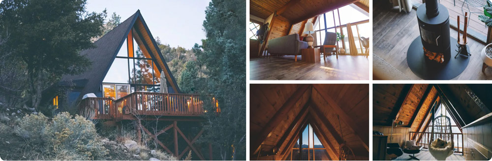 Alterra House Mid-Century A-frame – Big Bear California