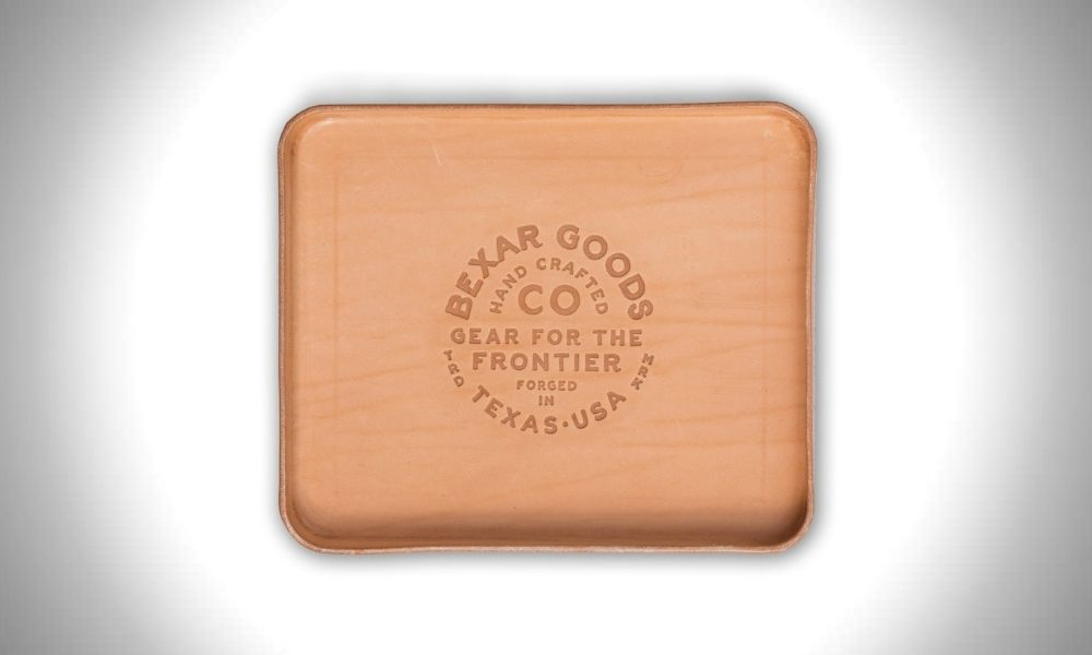 Bexar Goods Leather Valet Tray Top 17 Leather Valet Trays to Organize Your EDC