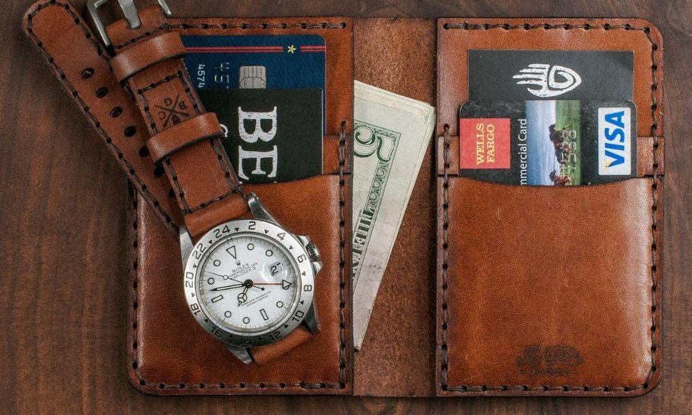 Bexar Goods Vertical Bifold Wallet