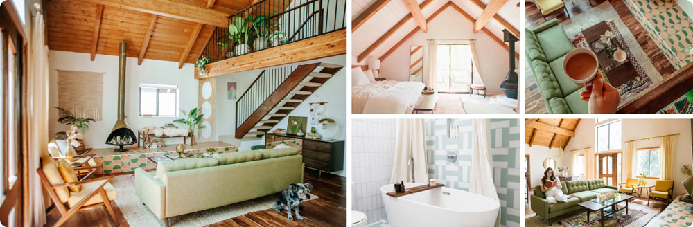 The Kitchy Cabin: Your Gorgeous Mountain Getaway