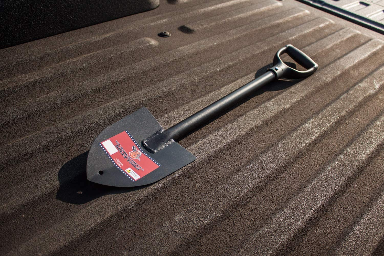 Bully Tools 92712 14-Gauge Round Point Trunk Shovel - Tools Made in USA