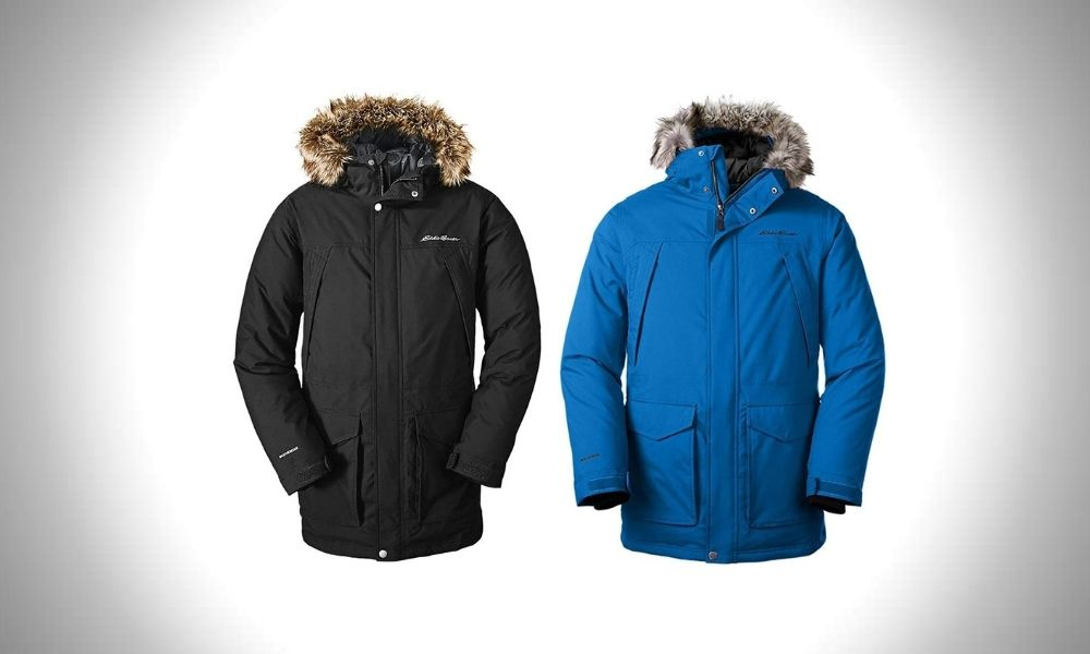 Eddie Bauer Mens Superior Down Parka 8 Best Parkas For Men in 2021 (Buying Guide)   Warm Mens Winter Parkas