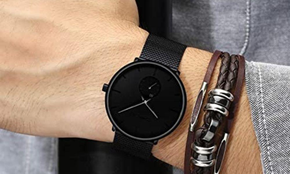 Fizili Fashion Wrist Watch for Men 7 Fantastic Black Watches for Men