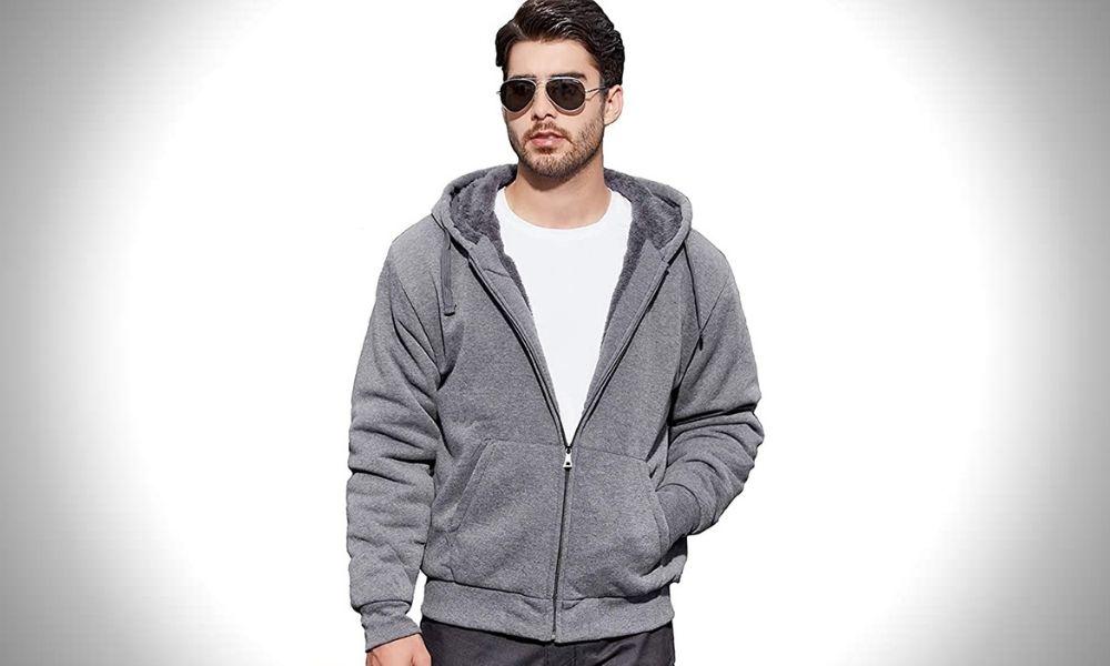 Geek Lighting Sweatshirt for Men Heavyweight Fleece Sweatshirt