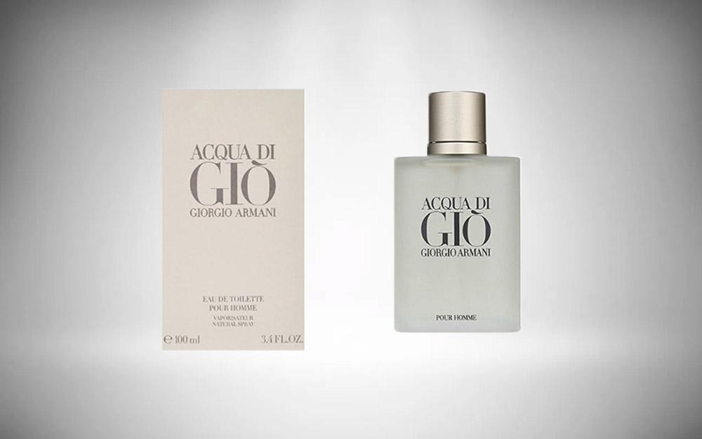 Giorgio Armani's Acqua Di Gio