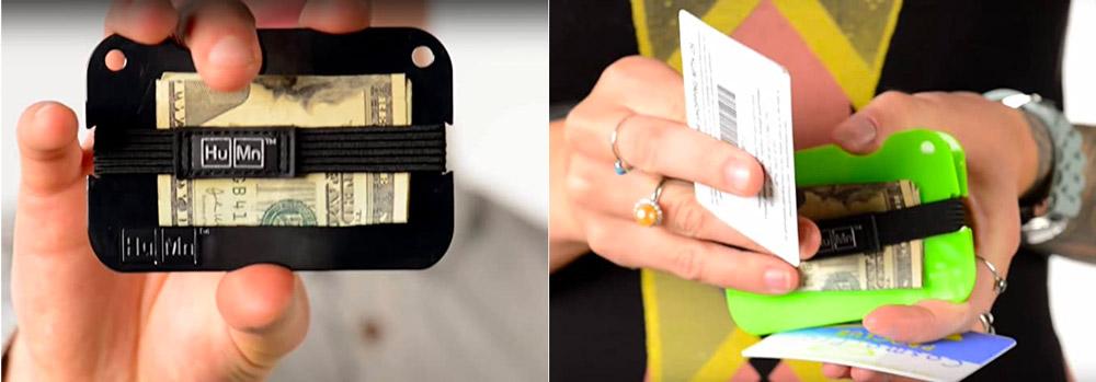 HuMn Mini Slim Polycarbonate Wallet