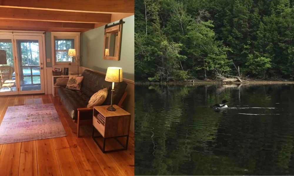 Lakefront Airbnb Cottage on Graham Lake in Maine 11 Best Airbnbs in Maine for a Magnificent Coastal Getaway