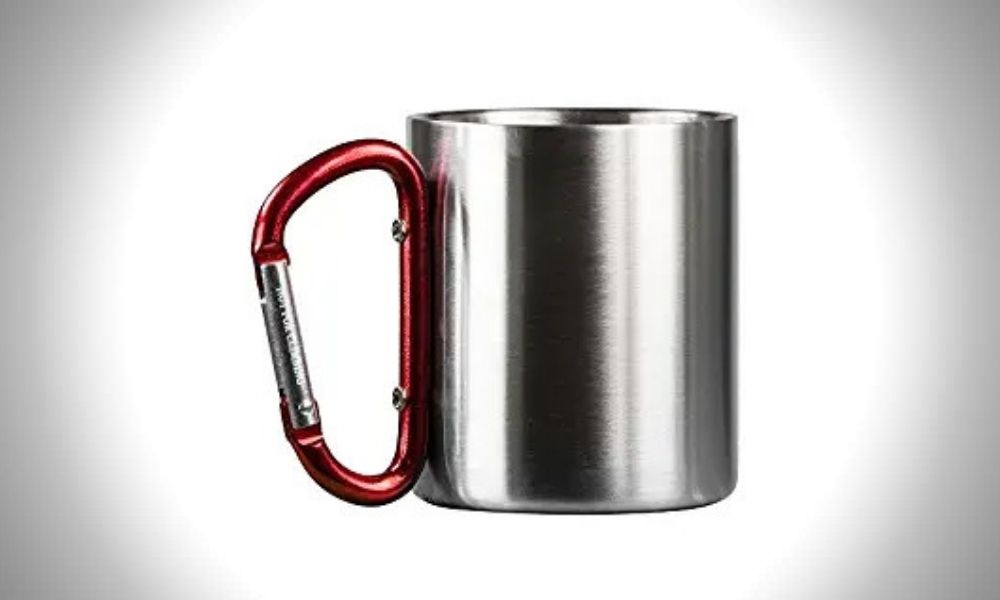 Life Gear Stainless Steel Double Walled Camping Mug