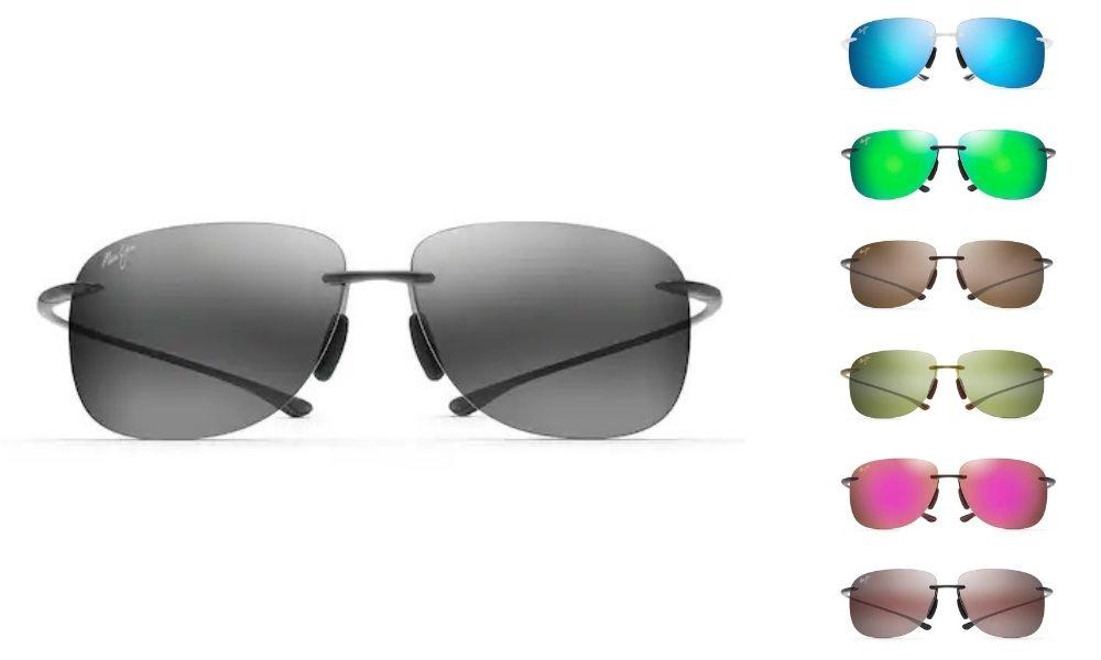 Maui Jim Hikina Polarized Rimless Sunglasses