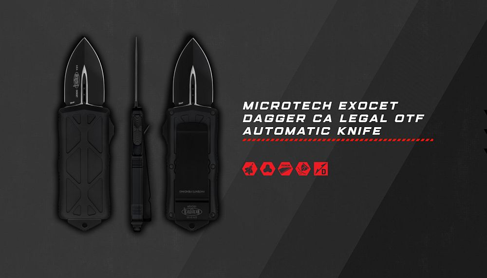 Microtech Exocet - Mini OTF Knife