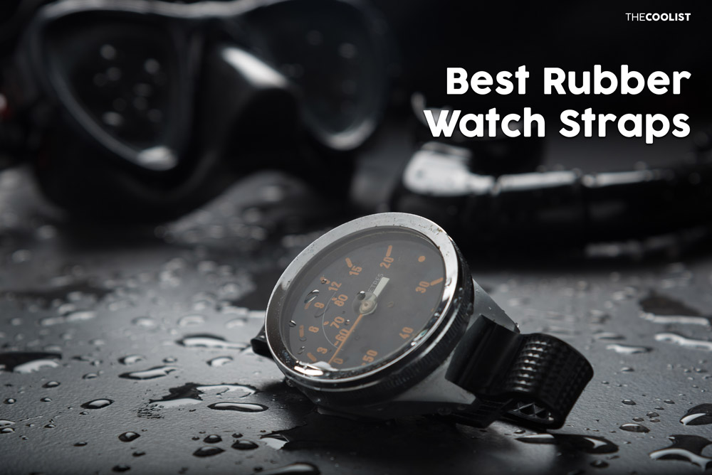 Rubber Watch Straps 10 Best Rubber Watch Straps to Get in 2021 + Buying Guide
