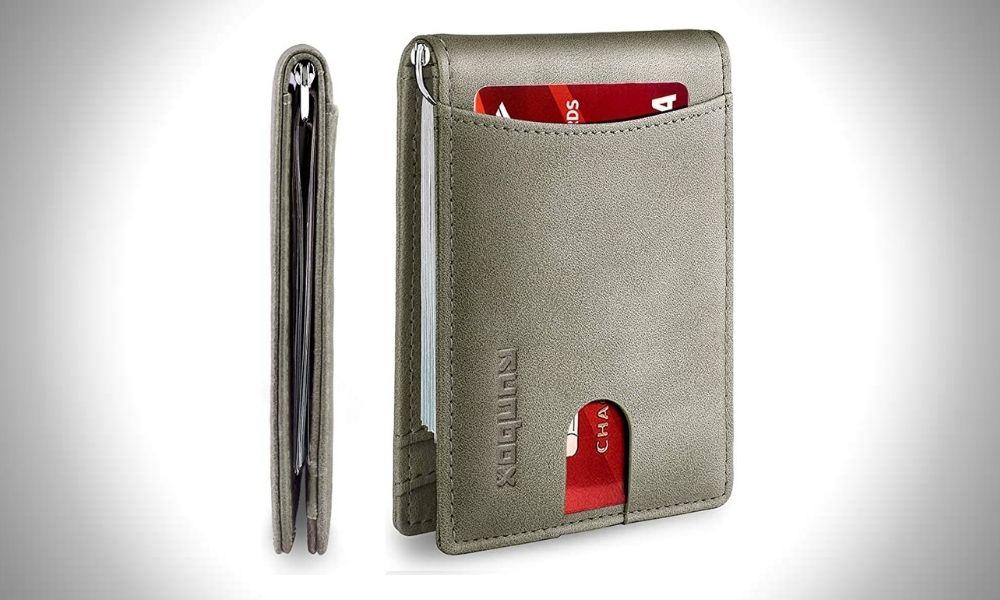 Runbox Minimalist Slim Wallet for Men