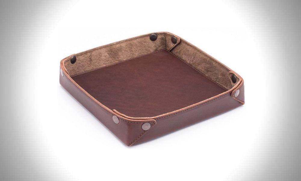 Saddleback Leather Valet Tray