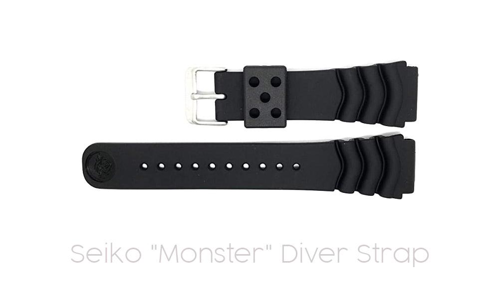 "Seiko ""Monster"" Diver Strap"