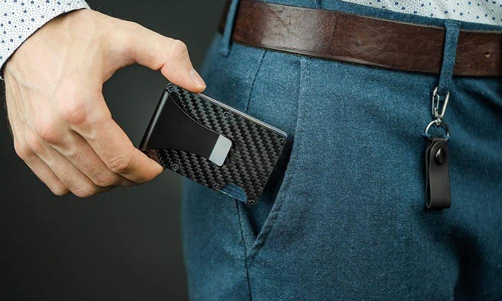 Sempern Carbon Fiber Slim Wallet