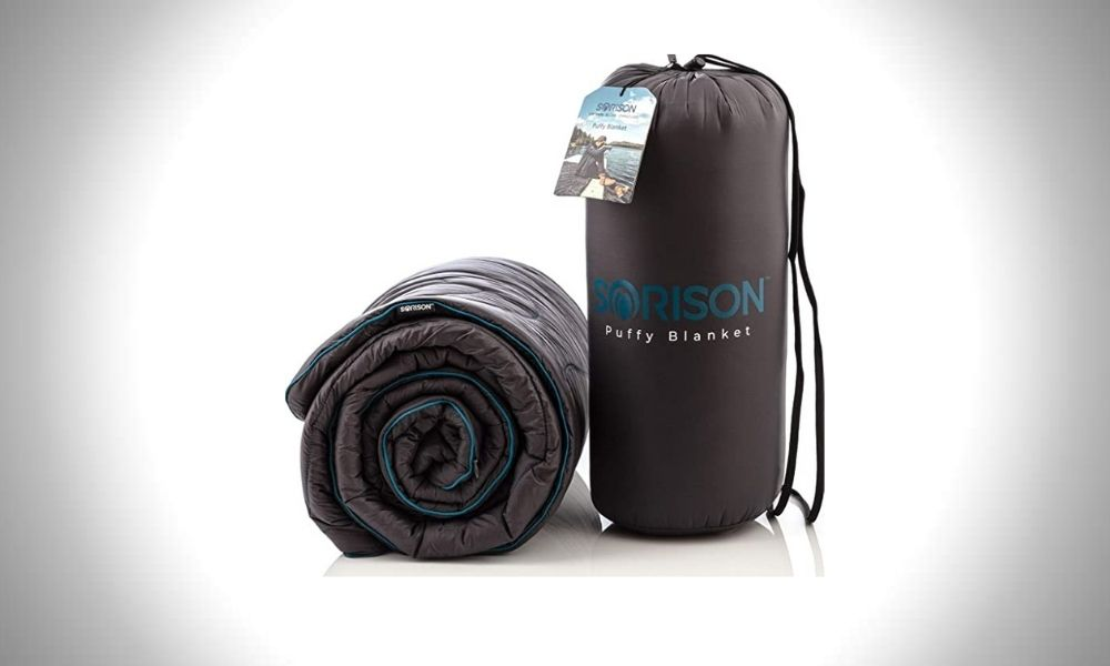 Sorison Large Puffy Camping Blanket