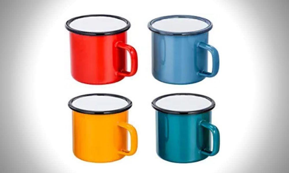 TeamFar Tea Camping Mug Set