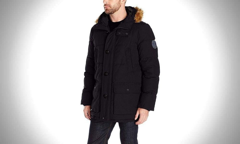 Tommy Hilfiger Men's Quilted Snorkel Jacket