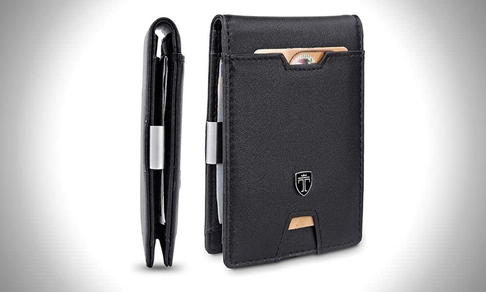 Travando Austin Vertical Bifold Wallet  Best Vertical Bifold Wallet for Classy, Organised Men