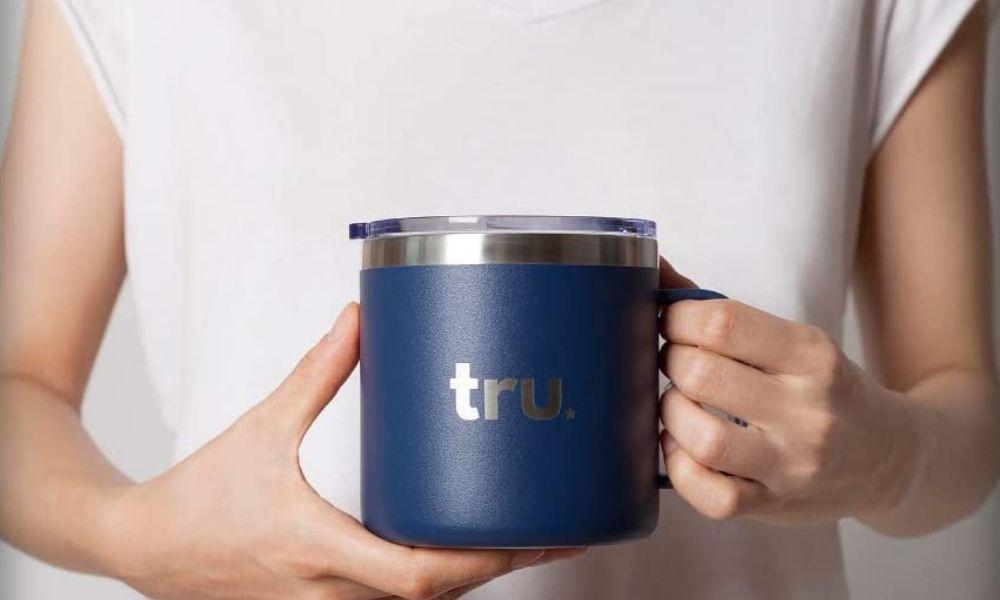 Tru Blu Stainless Steel Camping Mugs