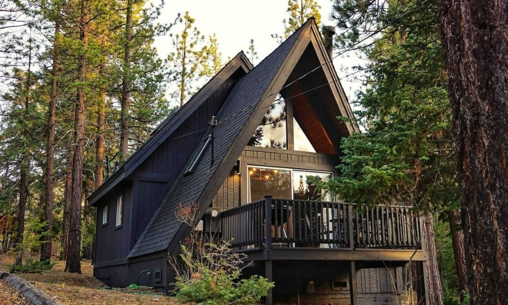 Whiskey Ridge A Frame Chalet 10 Most Amazing Airbnb Cabin Rentals in Big Bear Lake, California