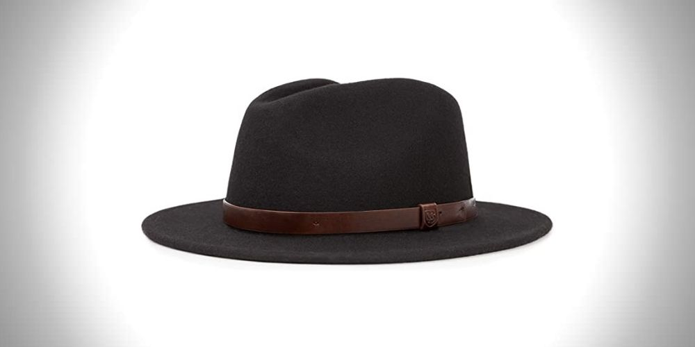 Brixton Messer Medium Brim Fedora Men's Hat