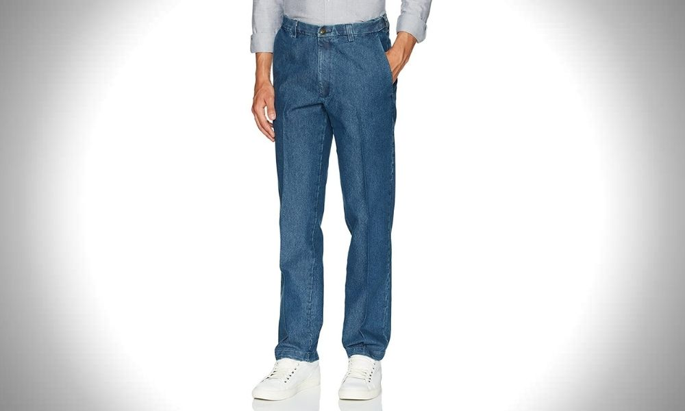 Haggar Men's Stretch Denim Jeans