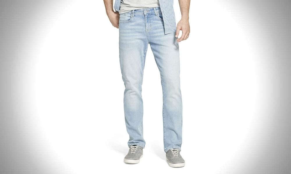 Izod Men's Comfort Stretch Denim Jeans