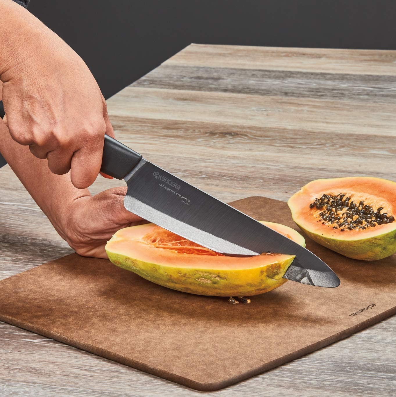 Kyocera Advanced Ceramic Revolution Series 7-inch Professional Chef's Knife