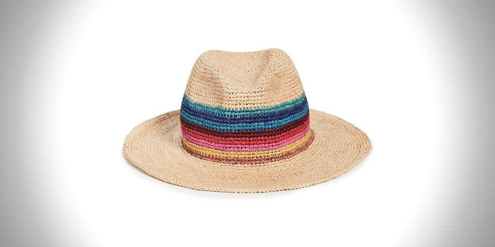Paul Smith Men's Artist Straw Crotchet Hat