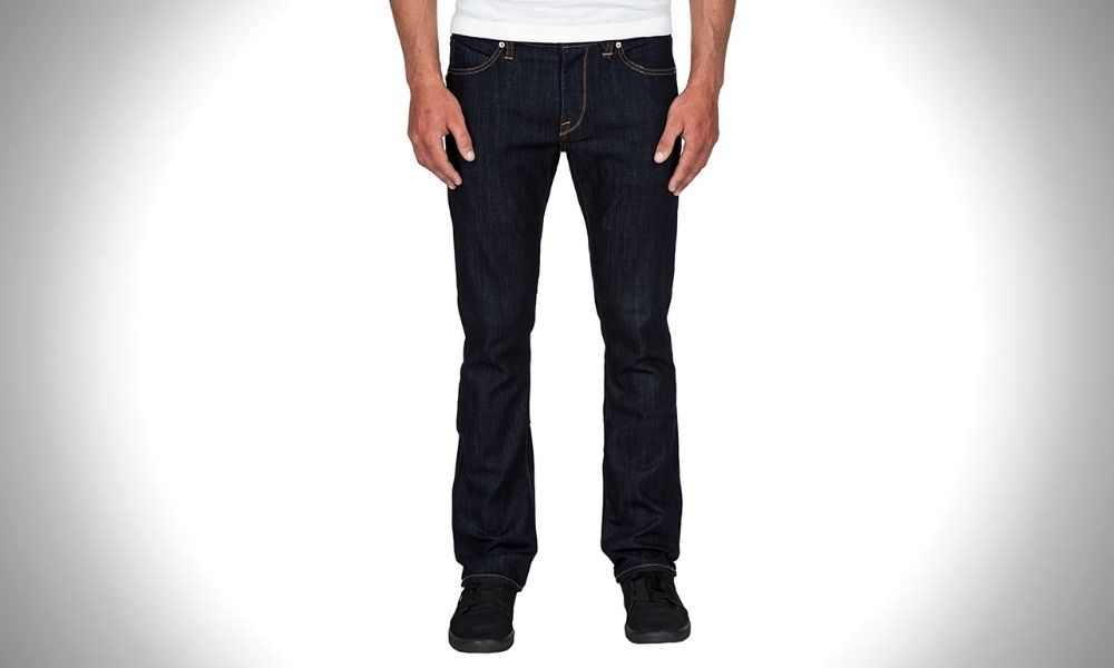Volcom Men's Vorta Slim-Fit Stretch Denim Jeans