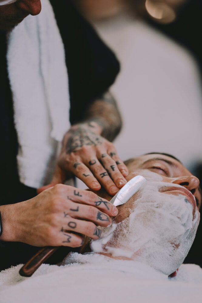 Men Skincare Routine - Proper shaving