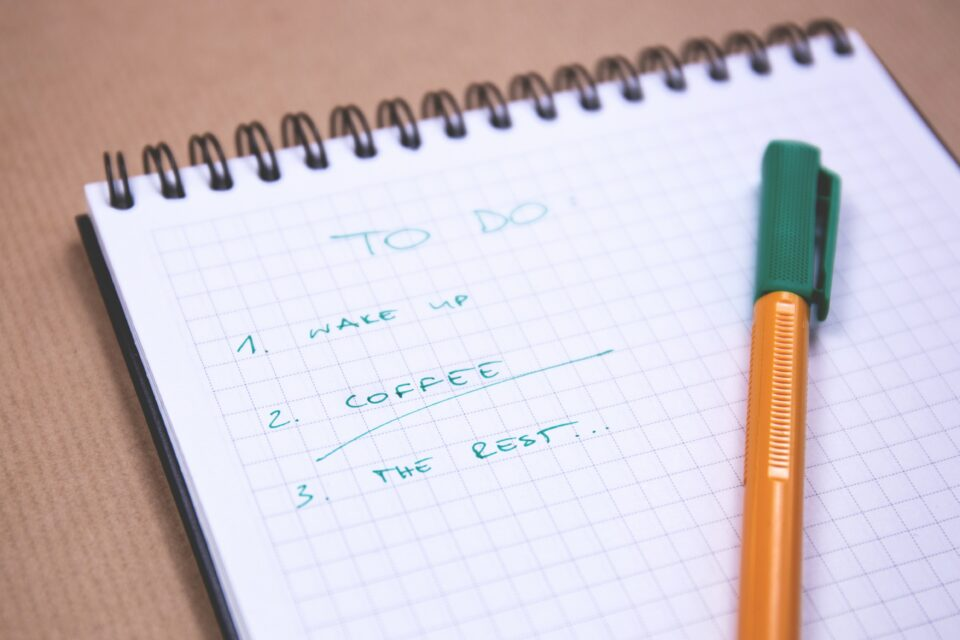 Morning Routine - To Do Lists