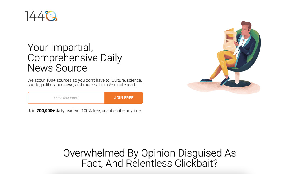 1440 news 1440 News (REVIEW): The Unbiased 1440 Daily Digest and What to Expect