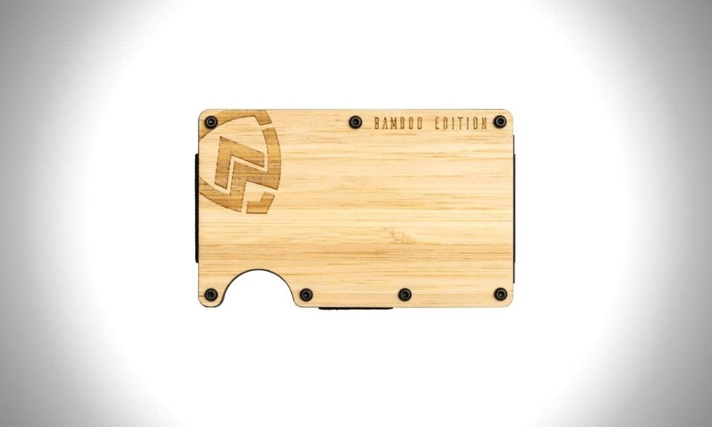 Armour Supply Bamboo Wallet