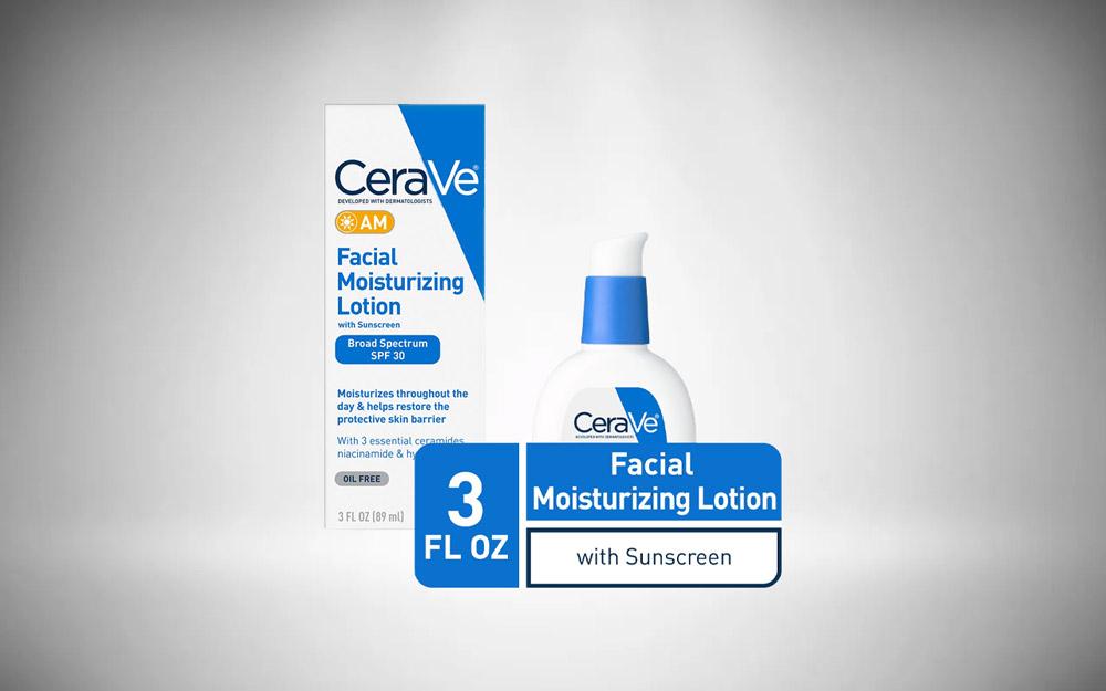 CeraVe Moisturizers, Moisturizing Facial Lotion for Men (AM)