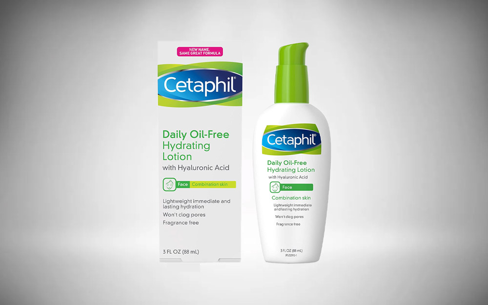 Cetaphil Face Moisturizer, Daily Oil-Free Hydrating Face Lotion with Hyaluronic Acid