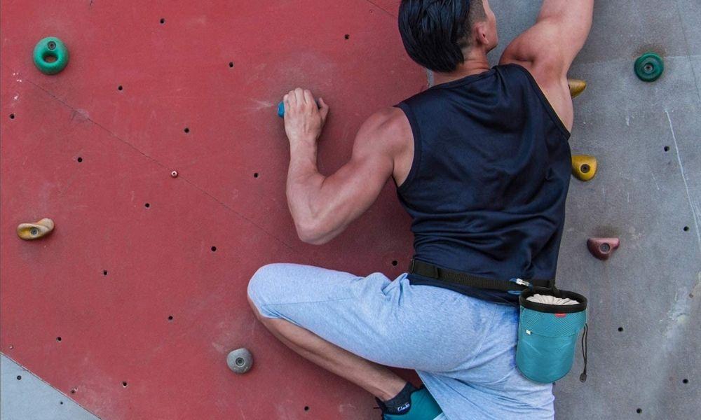 Chalk bag Rock climbing terminology